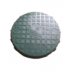 Pokrywa na studzienkę rozdzielczą pełna 33 CM, GRAF SOTRALENTZ