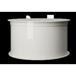 Skrzynka na kompresor, dmuchawę oczyszczalni biologicznej VH okrągła                            width=