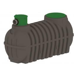 Zbiornik na wode deszczówkę 1000 l TUR z filtrem