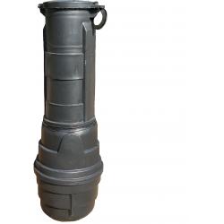 Przepompownia ścieków 150 litrów uzbrojona z Pompą Omnigena WQ-180F                            width=