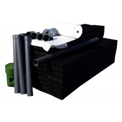 Zestaw drenażowy 4 pakiety W-box