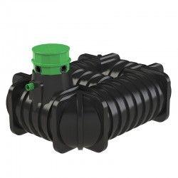 Zbiornik na wode deszczową, deszczówkę 5000 l Flat  L Płaski                            width=
