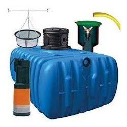 Zbiornik na wode deszczową, deszczówkę 3000 l Flat  S Płaski                            width=