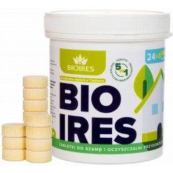 Tabletki do szamba BIOIRES na ROK+Tłuszcze 5w1                            width=