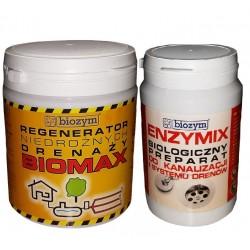 BIOMAX + ENZYMIX regenerator niedrożnego drenażu                            width=