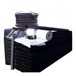 Oczyszczalnia ekologiczna, szambo ekologiczn 1200 l dla 2 osób, 3 pakiety w-box                             width=