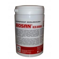 Biosan Kz 2000,Bakterie do oczyszczalni, szamba