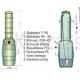 Przepompownia ścieków 150 litrów uzbrojona z Pompą Omnigena WQ-180F